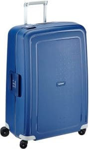 Samsonite S'Cure - Spinner L Blue, la valise la plus vendue sur Amazon